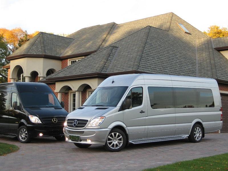 Charlotte Mercedes Sprinter Vans