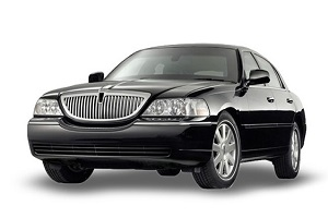 limo car service by lincoln town car