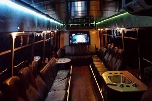 Charlotte Brewery Tour Party Bus